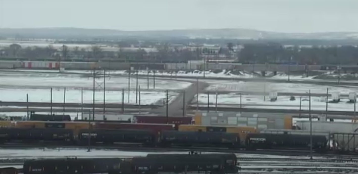 Clickable image taking you to the Bailey Yard webcam