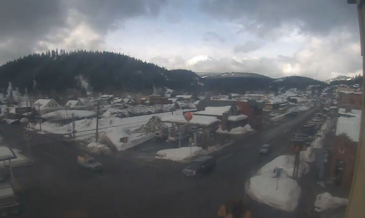 Clickable image taking you to the Truckee webcam