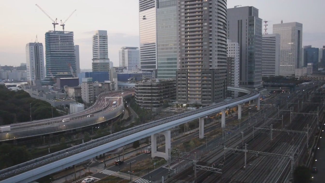 Clickable image taking you to the Tokyo-Minato webcam