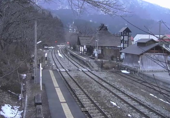 Clickable image taking you to the Yunokami-onsen webcam