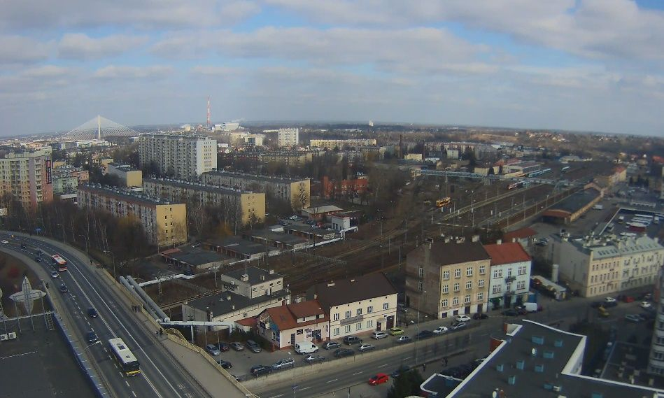 Clickable image taking you to the Rzeszów webcam