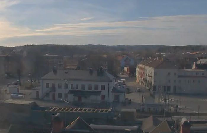 Clickable image taking you to the Lindesberg webcam