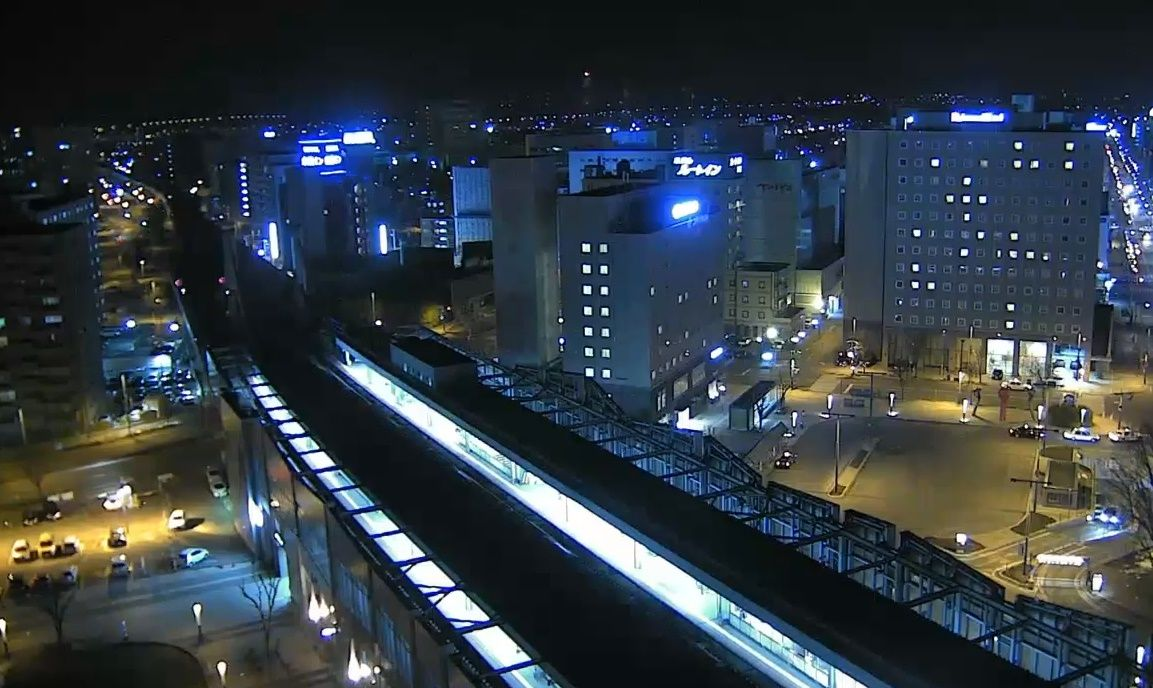Clickable image taking you to the Obihiro webcam