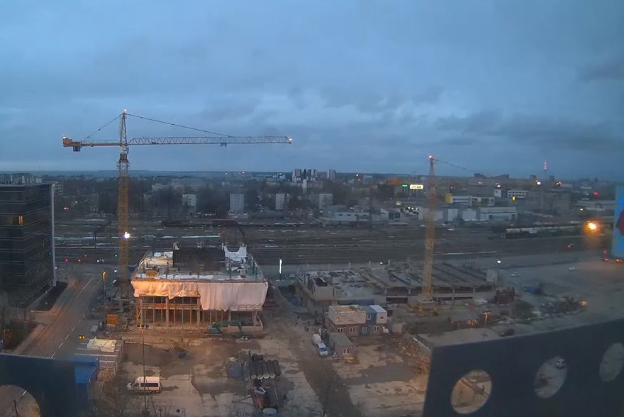 Clickable image taking you to the Tallinn webcam