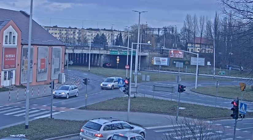 Clickable image taking you to the Koszalin webcam