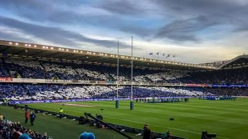 Image showing the Murrayfield rugby stadium