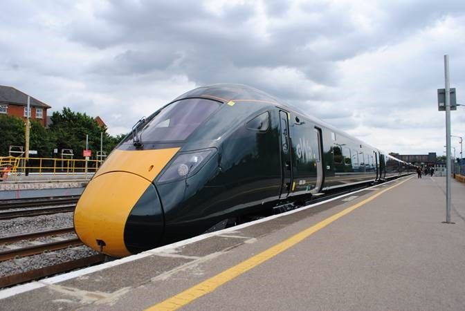Image showing GWR Intercity Express train