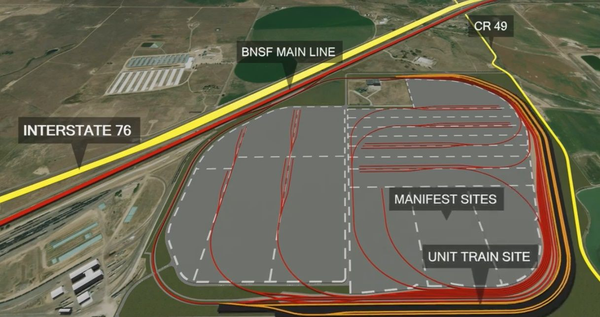 Image showing overview of new logistics center