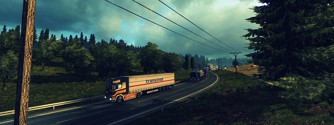 Image showing gameplay from Euro Truck Simulator 2