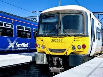 Image showing Class 365 EMU working for ScotRail