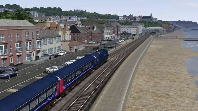 Image showing screenshot of the South Devon Main Line extension to the Western Mainlines route