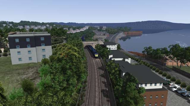 Image showing screenshot of the Paignton extension to the Western Mainlines route