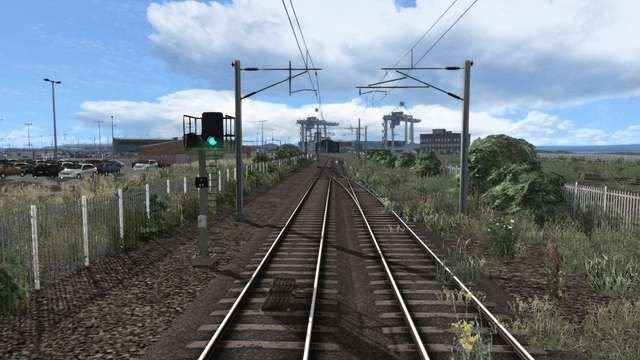 Image showing the scenery upgrade on the Mayflower Line, available from Just Trains