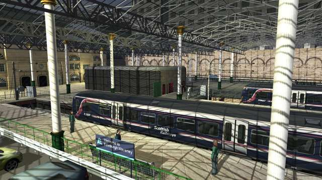 Train Simulator ECML Newcastle  to Edinburgh