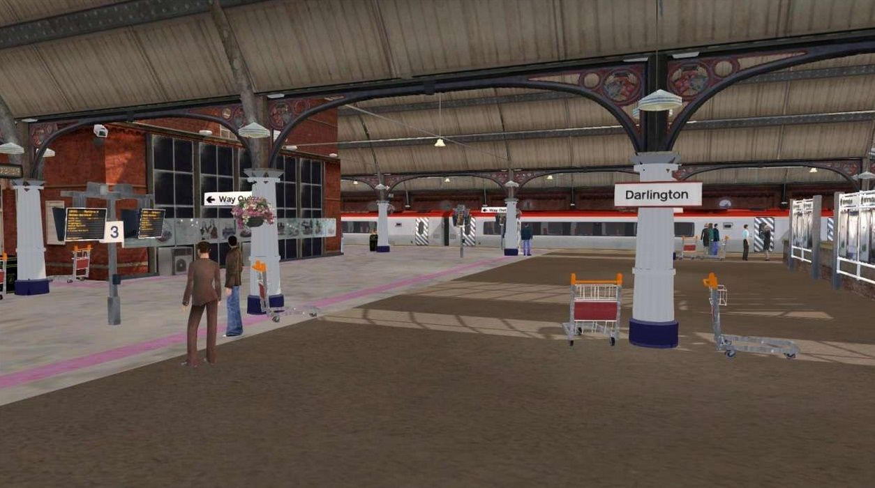 Train Simulator Bishop Auckland to Darlington