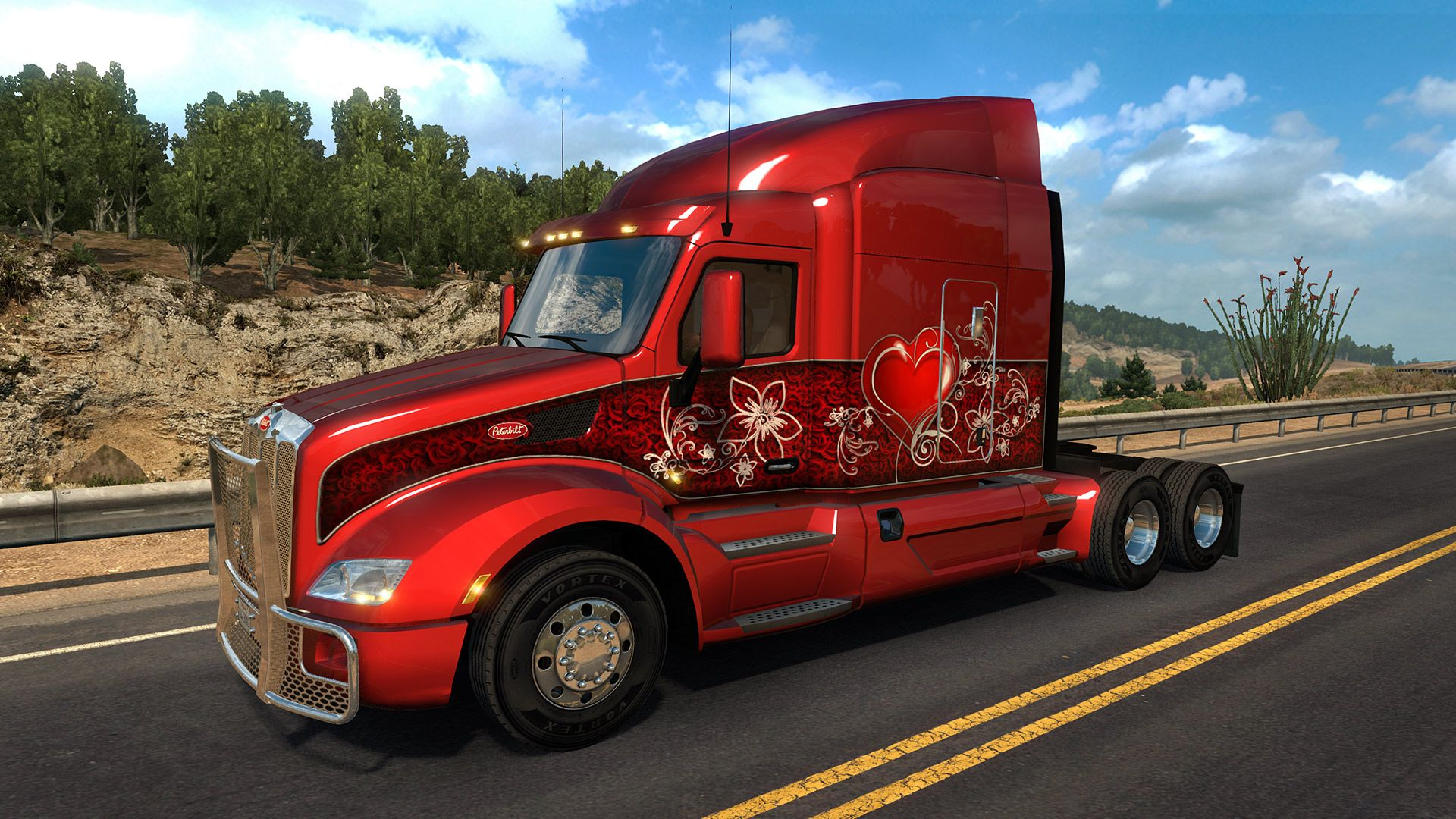 American Truck Simulator - Valentine's Paint  Jobs Pack