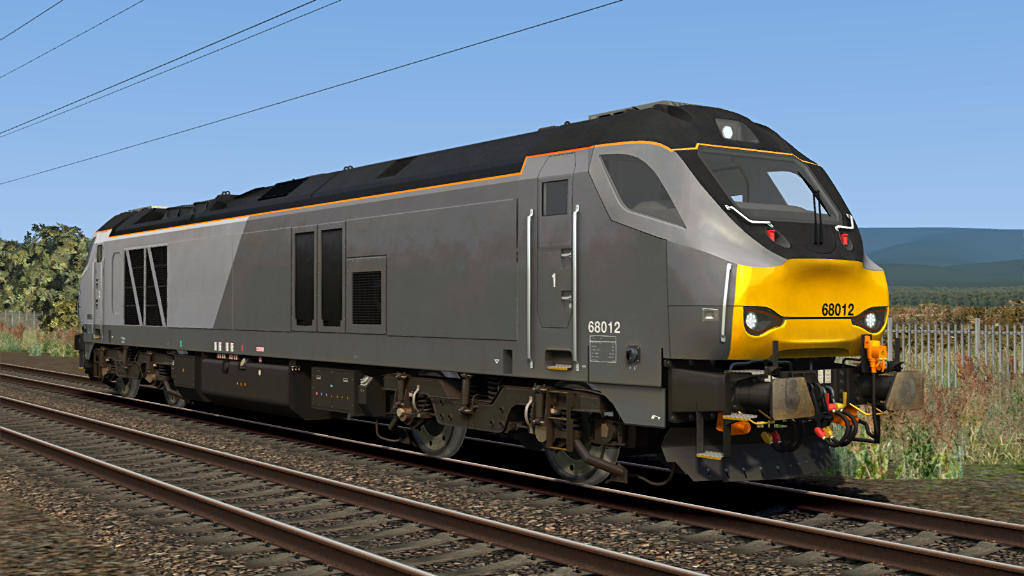 Image showing screenshot one of the liveries seen in the Armstrong Powerhouse Class 68 Enhancement Pack