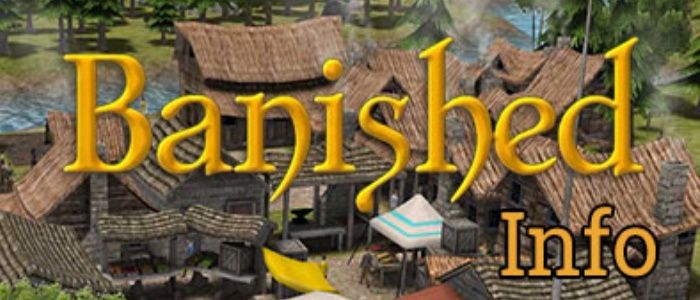 Clickable image taking you to the Banished community website at banished.info