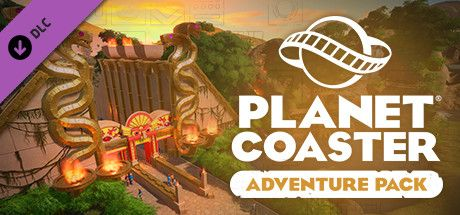 Clickable image taking you to the Steam store page for the Adventure Pack DLC for Planet Coaster