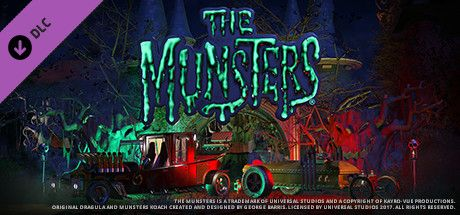 Clickable image taking you to the Steam store page for the The Munsters® Munster Koach Construction Kit DLC for Planet Coaster