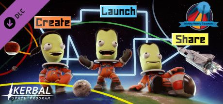 Clickable image taking you to the Green Man Gaming store page for the Making History Expansion DLC for Kerbal Space Program