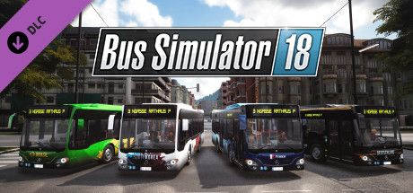 Clickable image taking you to the Steam store page for the Country Skin & Decal Pack DLC for Bus Simulator 18
