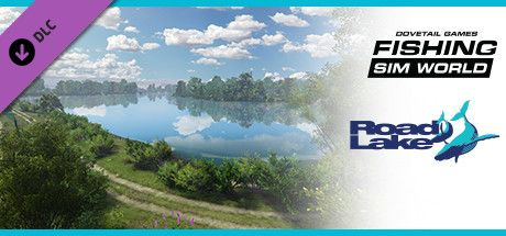 Clickable image taking you to the Steam store page for the Gigantica Road Lake DLC for Fishing Sim World
