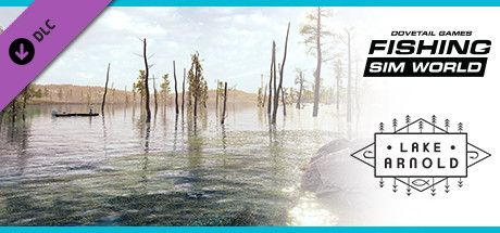Clickable image taking you to the Steam store page for the Lake Arnold DLC for Fishing Sim World