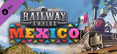 Clickable image taking you to the Green Man Gaming store page for the Mexico DLC for Railway Empire