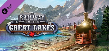 Clickable image taking you to the Green Man Gaming store page for The Great Lakes DLC for Railway Empire