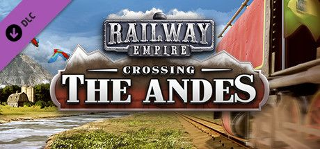 Clickable image taking you to the Green Man Gaming store page for the Crossing the Andes DLC for Railway Empire
