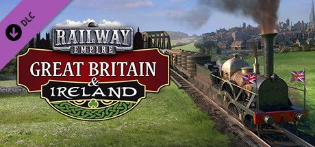 Clickable image taking you to the Green Man Gaming store page for the Great Britain & Ireland DLC for Railway Empire