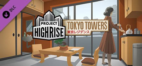Clickable image taking you to the Green Man Gaming store page for the Tokyo Towers DLC for Project Highrise