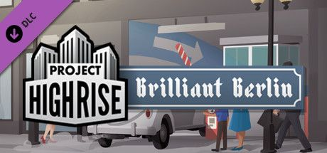 Clickable image taking you to the Green Man Gaming store page for the Brilliant Berlin DLC for Project Highrise