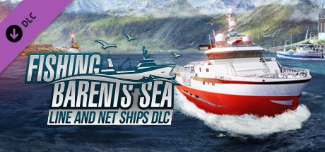Clickable image taking you to the Green Man Gaming store page for the Line and Net Ships DLC for Fishing: Barents Sea