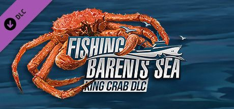 Clickable image taking you to the Green Man Gaming store page for the King Crab DLC for Fishing: Barents Sea