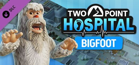 Clickable image taking you to the Steam store page for the Bigfoot DLC for Two Point Hospital