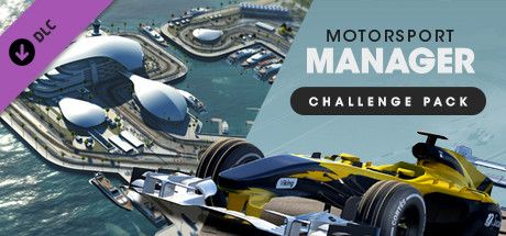 Clickable image taking you to the Steam store page for the Challenge Pack DLC for Motorsport Manager
