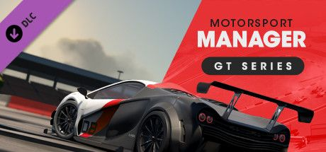 Clickable image taking you to the Steam store page for the GT Series DLC for Motorsport Manager