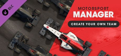 Clickable image taking you to the Steam store page for the Create Your Own Team DLC for Motorsport Manager