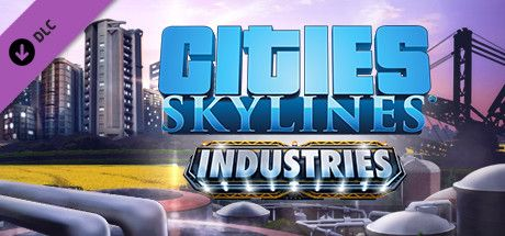 Clickable image taking you to the Green Man Gaming store page for the Industries DLC for Cities: Skylines