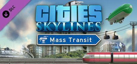 Clickable image taking you to the Green Man Gaming store page for the Mass Transit DLC for Cities: Skylines