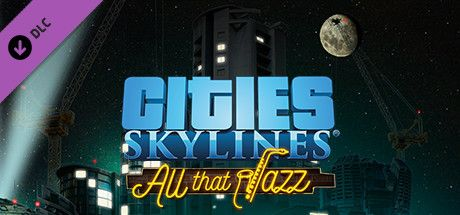 Clickable image taking you to the Green Man Gaming store page for the All That Jazz DLC for Cities: Skylines