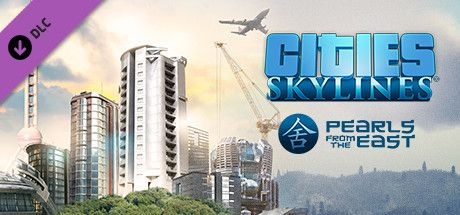 Clickable image taking you to the Steam store page for the Pearls From the East DLC for Cities: Skylines