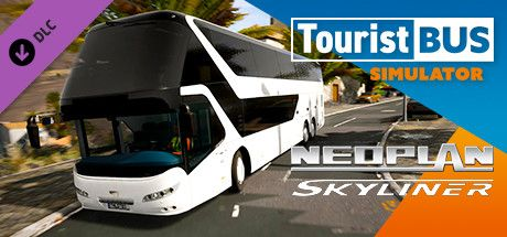 Clickable image taking you to the Steam store page for the Neoplan Skyliner DLC for Tourist Bus Simulator