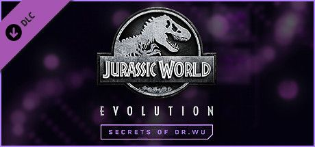 Clickable image taking you to the Steam store page for the Secrets of Dr Wu DLC for Jurassic World Evolution