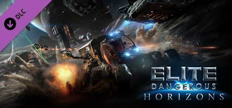 Clickable image taking you to the Steam store page for the Horizons Season Pass DLC for Elite Dangerous
