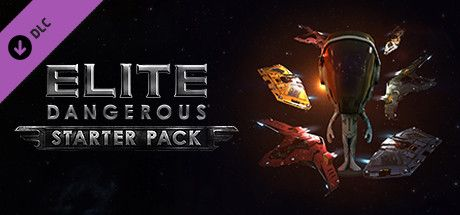 Clickable image taking you to the Steam store page for the Pilot Starter Pack DLC for Elite Dangerous