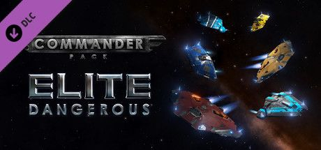 Clickable image taking you to the Steam store page for the Commander Pack DLC for Elite Dangerous