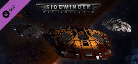 Clickable image taking you to the Steam store page for the Sidewinder Variant Pack DLC for Elite Dangerous